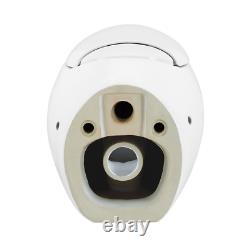 0.8/1.28 GPF Plaisir Wall Hung Dual Flush Elongated Toilet Bowl in White
