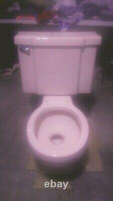 1960's KOHLER KofK4212Wellworth pink 2 Pc. Round Front Toilet