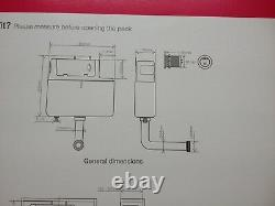 3 x Tavistock Vortex Front & Top Access Concealed Dual Flush Cistern VOR790