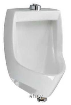 American Standard 6581001Ec. 020 Washout Urinal, 0.125 1.0 Gpf, Wall Mount