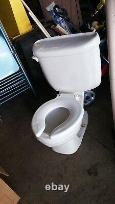 American Standard Baby Childs Kids Toilet Devoro Round Flush Small Seat Tank