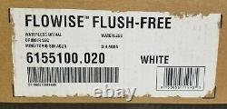 American Standard Flowise Waterless No Flush Free Urinal Wall Mount Small White