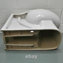 American Standard Huron Elongated Toilet Bowl 3342001.020, Floor Mount Back Spud