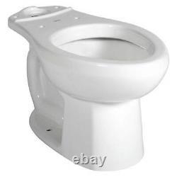 American Standard Toilet Bowl, Floor, Elongated, Gallons per Flush 1.28 to 1.6