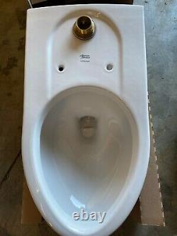 American Standard Wall Mount Toilet Elongated Flushometer Commercial 1.1-1.6 GPF