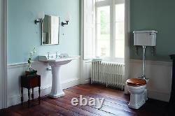Burlington Medium Level Toilet WC Traditional