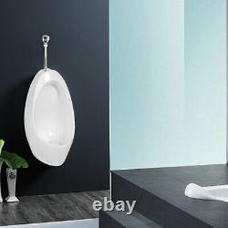 Ceramic Wall Mounted Urinal Wall mounted Flushing Toilet Supply with Flush Valve