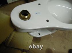 Crane Eco Whirlton 1.28 Gpf Top Spud Commercial Flush Valve Toilet Bowl White