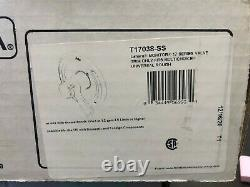 Delta Lahara 1-Handle Shower Valve Trim Kit in Stainless Steel T17038-SS