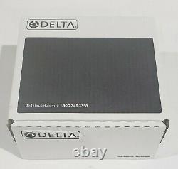 Delta Trinsic Shower Faucet Trim Kit in Matte Black (No Valve) T14259-BL