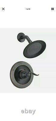 Delta WINDEMERE1429960C-OB Oil Rubbed Bronze One Handle Shower Faucet With Valve