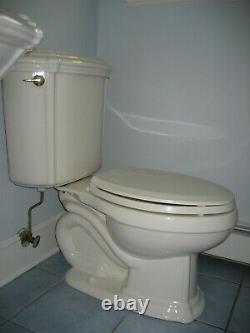 Discontinued KOHLER BATHROOM TOILET Model PORTRAIT Color BISCUIT K-3591-96