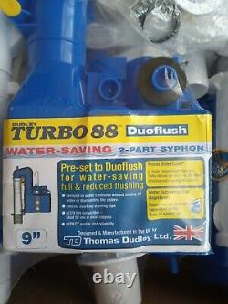 Dudley turbo 88 Syphons x10