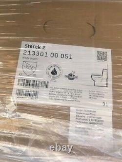 Duravit Starck-2 Single-Piece Floor-Mounted toilet white one piece