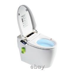 Elongated One Piece Smart Toilet