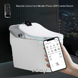 Elongated One Piece Smart Toilet 300MM Hole Distance With Advance Bidet And Seat