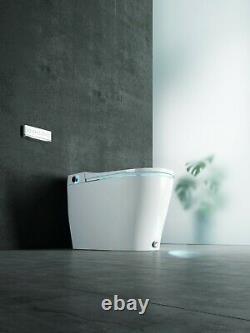 Elongated Toilet Seat Bidet, Smart Toilet, Heated Seat, Dryer, Self Clean USA