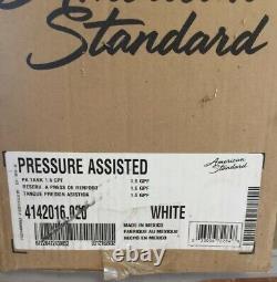 FULL SET AMERICAN STANDARD 3481001.020 1.1/1.6 gpf, Pressure Assist Tank