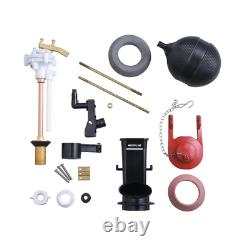 Fill Valve Kit Older Toilets Genuine Solid Brass Fits Assorted Quality Parts NEW