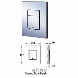GROHE RAPID 5in1 CONCEALED WALL HUNG TOILET CISTERN WC FRAME SKATE COSMOPOLITAN