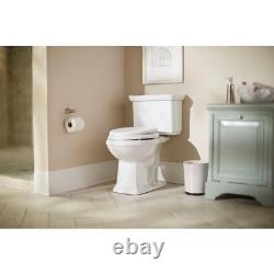 Glacier Bay Two-Piece Toilet Dual Flush Elongated Closed Seat Vitreous China