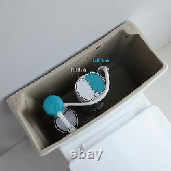 HOROW One Piece Toilet Compact Bathroom Mini Dual Flush Commode Water Closet