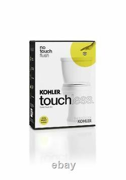 KOHLER K-1954-0 Touchless Toilet Flush Kit