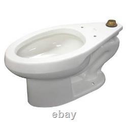 KOHLER K-96053 Toilet Bowl, Elongated, Floor, Flush Valve