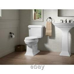 KOHLER Memoirs Classic 2-Piece 1.6 GPF Single Flush Elongated Toilet with Flush