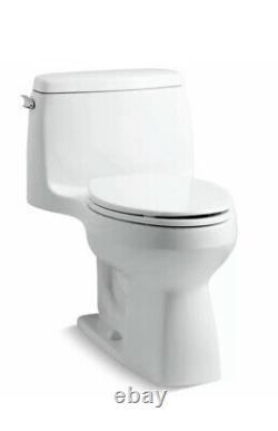 Kohler 3810-0 Santa Rosa Comfort Height Elongated 1.28 Gpf Toilet with Aquapi