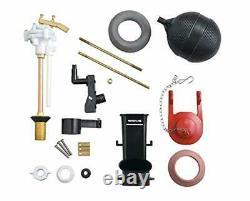 Kohler Conversion Kit Fill+Flush valve Brass flapper gaskets replacm Read Photo