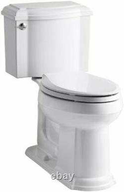 Kohler K-3837-0 Devonshire Comfort Height Toilet