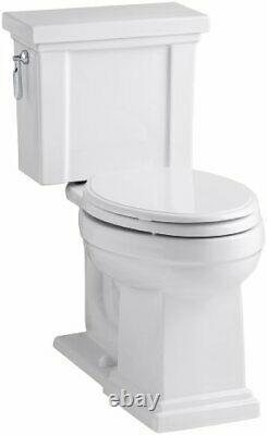 Kohler K-3950-0 Tresham Comfort Height Toilet 1.28 gpf, Elongated, White