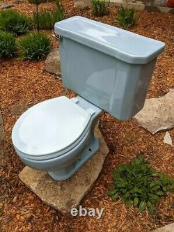 Kohler Wellworth Blue Vintage Retro 1960 Toilet MIDCENTURY K4518