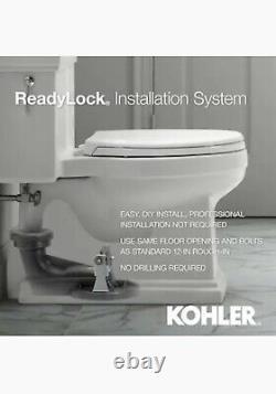 Local pickup New Kohler Transpose Elongated WaterSense Comfort Height Toilet