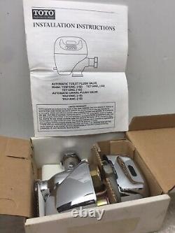 New Toto Auto Sensor Urinal Toilet Tet1dnc Flushometer Valve 1.6gpf/6lpf