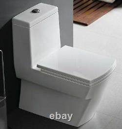 One Piece Toilet Modern Bathroom Toilet Dual Flush Toilet Andale 25