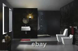 One Piece Toilet Modern Bathroom Toilet Dual Flush Toilet Cusio 27.6