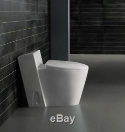 One Piece Toilet Modern Bathroom Toilet Dual Flush Toilet -Monte Carlo 27.6