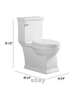 One piece toilet DOBLOPT002