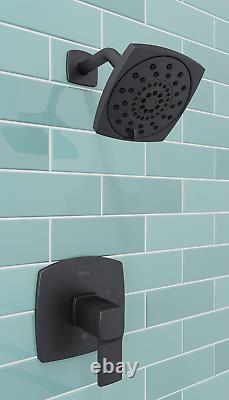 Pfister LG89-8DAB Deckard Tub and Shower Trim, Matte Black Invigorating Spray