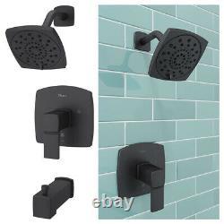 Pfister Tub and Shower Trim Kit Single Handle Matte Black LG89-8DAB Deckard