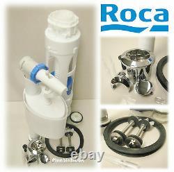 Roca Giralda Complete Dual Flush D2D Cistern Fitting Pack CW Fill Valve & Button