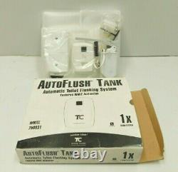Rubbermaid Commercial FG750831 Auto Flush Tank Toilet Flusher White (C6-1587)