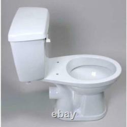 Saniflo 005 White White Insulated Toilet Tank Complete With Fill & Flush Valves