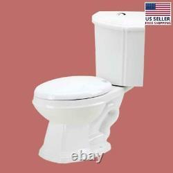 Sheffield Corner 2-Piece 0.8 GPF/1.6 GPF WaterSense Dual Flush Elongated Toilet