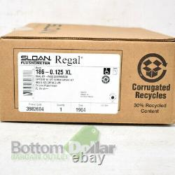 Sloan Regal 186-0.125 XL Flush Valve With Screw Sweat Kit Polished Chrome