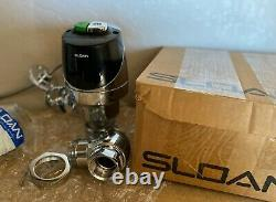 Sloan WES-56-A ECOS Electronic Dual Flush Assembly Flushometer Toilet Flush Kit