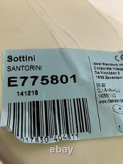 Sottini E775801 Santorini Ellipse Close Coupled Cistern Dual Flush Valve