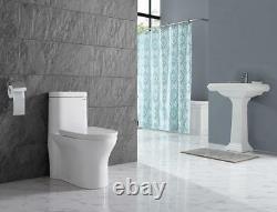 Swiss Madison Monaco One Piece Elongated Toilet Dual Flush 0.8/1.28 gpf